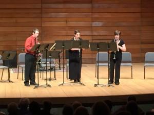 The Anti-Bassilisk Trio: SOU students Ron Hart, Clara Haptonstall & Stephanie Kuborssy