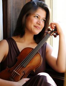 Violinist Elena Urioste