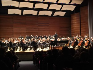Rogue Valley Symphony, directed by Martin Majkut, perform Glinka's Overture to Ruslan and Lyudmila during their Masterworks Series I Concert, Sept. 25, 2015 at S.O.U. Music Recital Hall, Asland, OR.