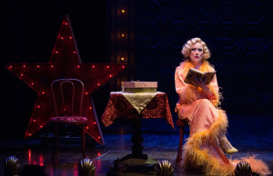Robin Goodrin Nordli as Miss Adelaide in OSF's Guys and Dolls. Photo by OSF photographer Jenny Graham.