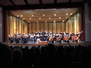 Rogue Valley Symphony performing Bizet's Carmen Overture – Les Toréadors at the beginning of 2015-16 Masterworks Concert 4 on Feb. 28, 2016, at Grants Pass Performing Arts Center, Grants Pass, OR